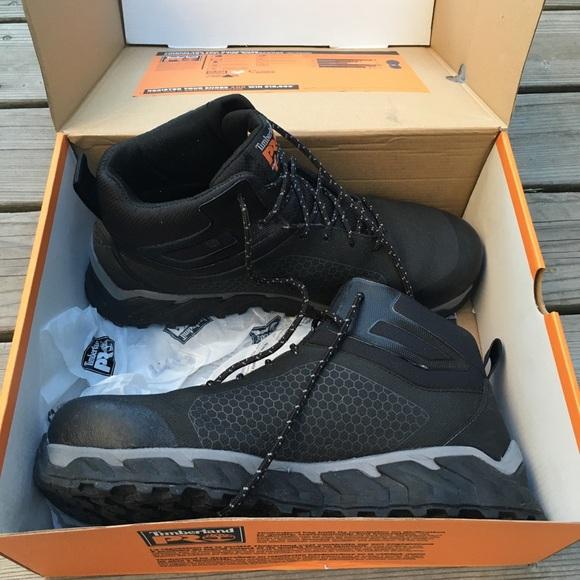 eafa7ca2d70 Timberland Pro Ridgework Safety Toe Boots 12 Men's